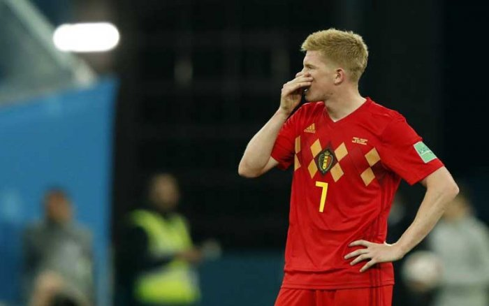 LOOKING AHEAD Kevin De Bruyne, one of the standout players for Belgium at this World, will now be hoping to spur his side at the Euro 2020. (AFP Photo)