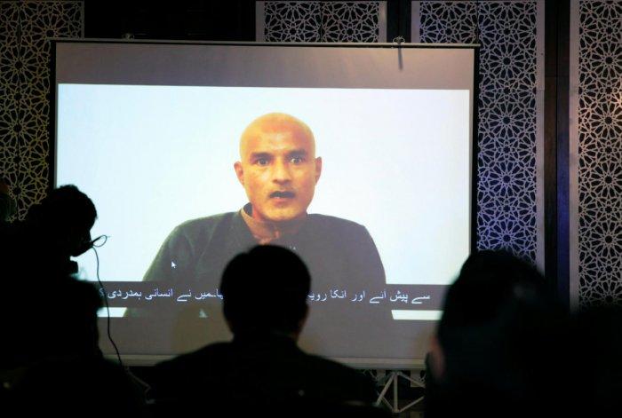 Former Indian navy officer Kulbhushan Sudhir Jadhav. Reuters File Photo