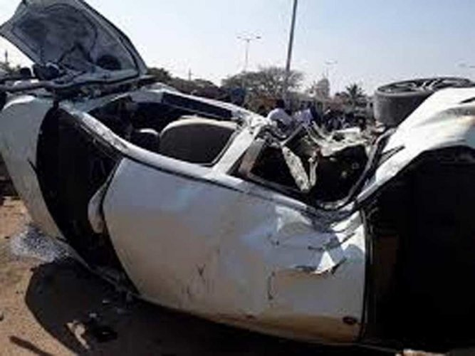 The accident occurred near the Haliyapur crossing under the Jagdishpur police station area last evening, they said. DH file photo for representation