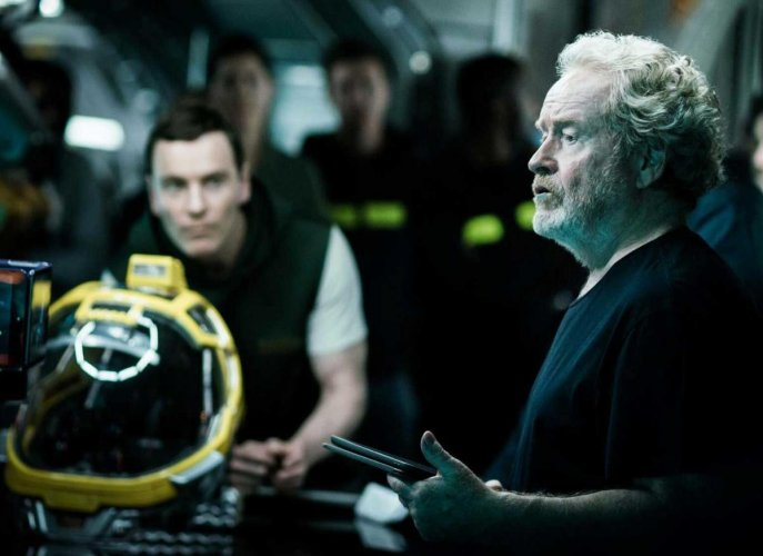Director Ridley Scott, image courtesy Facebook