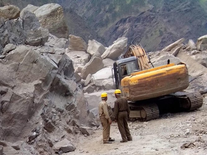 Several regions of Afghanistan regularly suffer landslides when the snow melts in the spring, but deforestation in some parts has increased their frequency. PTI file photo for representation