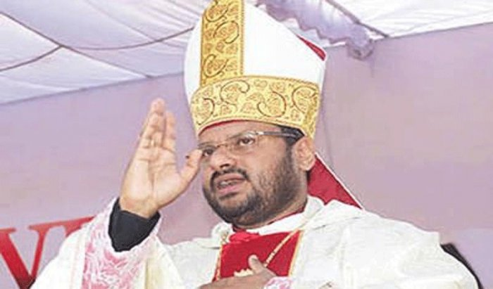 Franco Mulakkal, a Bishop of the Jalandhar diocese who has been accused of rape and unnatural sex by a nun, today claimed that he is innocent and said the truth will come out in the police investigation. Picture courtesy Twitter