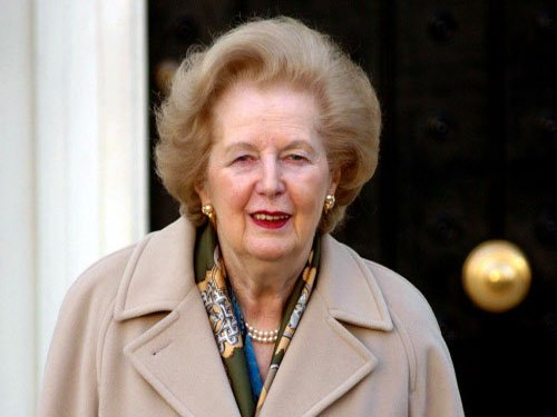 Margaret Thatcher. AP file photo