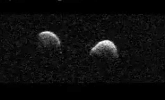 Near-Earth asteroid 2017 YE5 was discovered with observations provided by the Morocco Oukaimeden Sky Survey in December last year. (Screengrab)