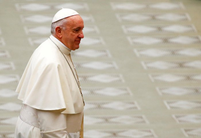Pope Francis. REUTERS.