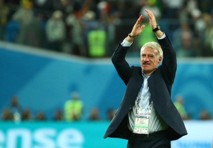 France coach Didier Deschamps is on the verge of joining an exclusive club at the World Cup. Only two men before him have won the World Cup as a player and as a coach. Reuters