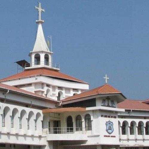 The Malankara Orthodox Church Catholicate Palace in Kottayam. FB