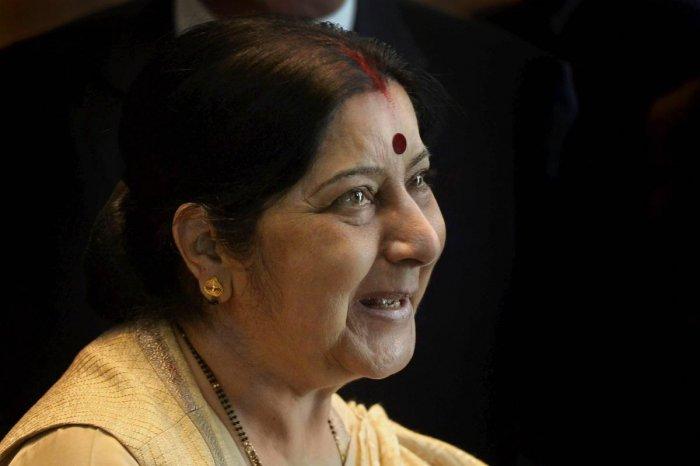 External Affairs Minister Sushma Swaraj (PTI file photo)