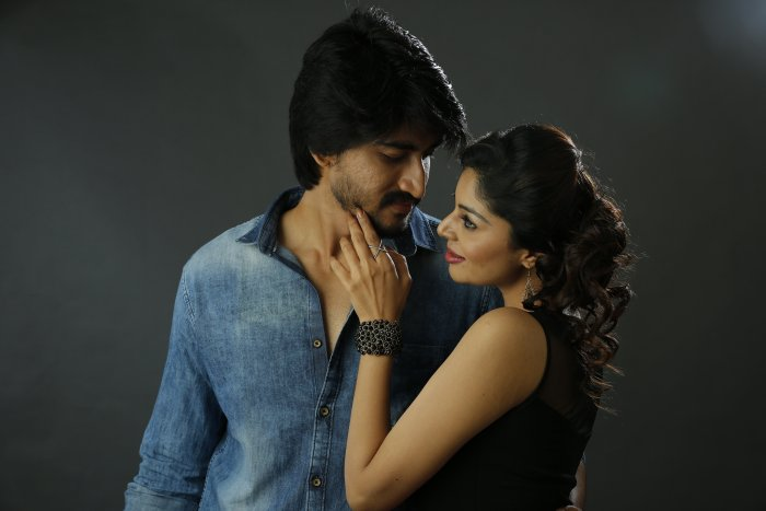 Pavan Teja and Sanam Shetty are stepping into Sandalwood with 'Atharva'.