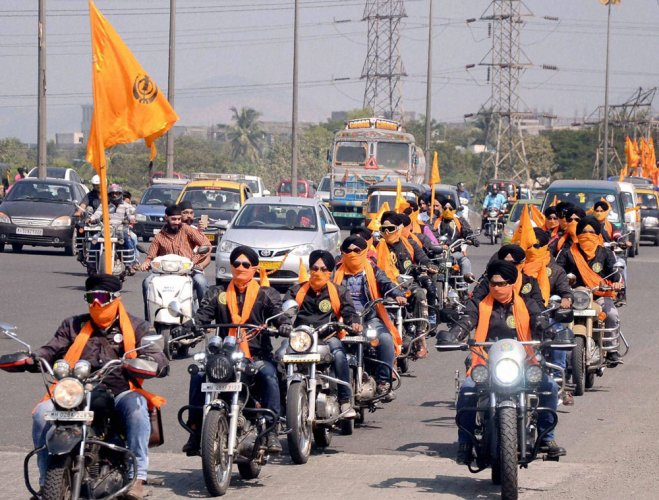 Cheema argued that Sikh tenets forbid wearing any cap or helmet. (PTI File Photo)