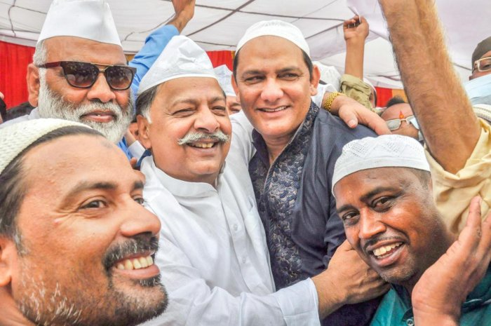 "In an interview to PTI, Azhar said he contested from Moradabad and then moved to Tonk as he was ""not the sort of person who likes to play safe"". PTI file photo."