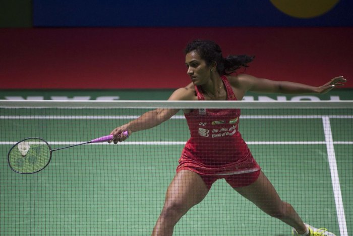 Olympic silver medallist PV Sindhu, file photo