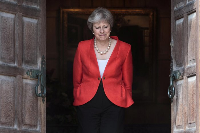 Britain's Prime Minister Theresa May, Reuters file photo