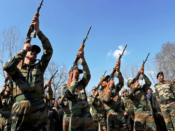 Out of the total requirement close to 72,400 assault rifles and 93,895 carbines are to be procured on fast track basis. PTI file photo for representation.