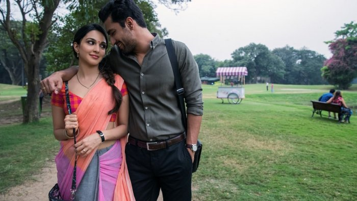 Kiara Advani and Vicky Kaushal in Karan Johar's short.