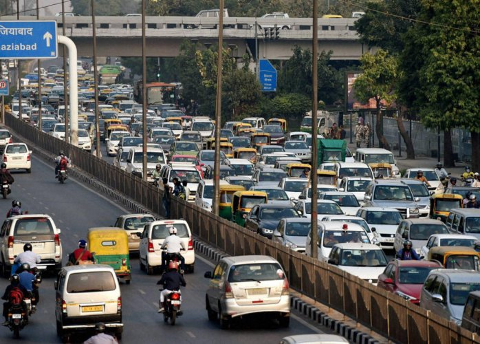 The minister said for such category vehicles, the maximum speed limit on roads within municipal and other roads has been fixed at 70 km per hour. (PTI file photo)