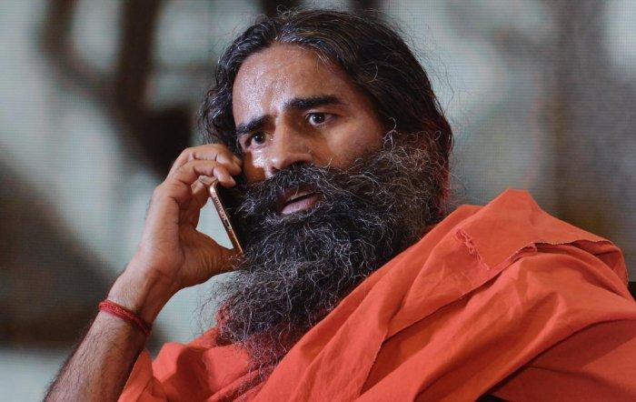 Yoga guru Ramdev. (PTI file photo)