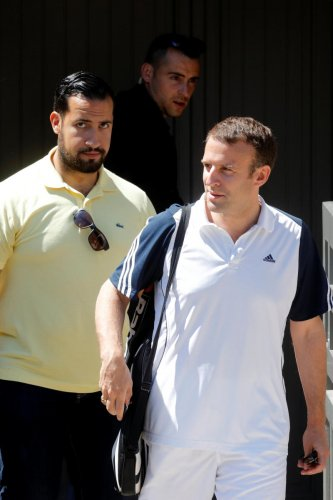 The presidential palace added that Benalla had been suspended for two weeks after the incident came to light and had been transferred out of his job, which was organising security for Macron's trips.
