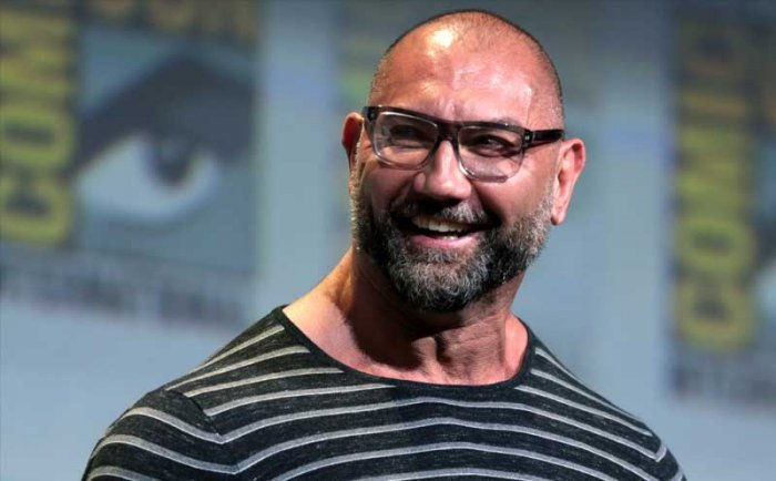In picture: Wrestler-turned-actor Dave Bautista. WikiCommons.