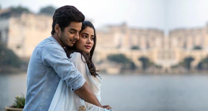 Janhavi Kapoor and Ishaan Khatter