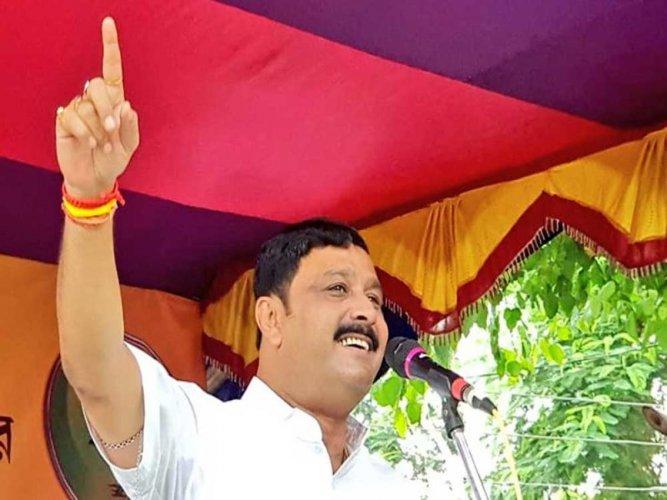 BJP National Secretary Rahul Sinha, image courtesy Twitter