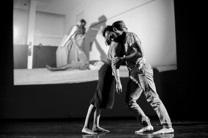 A still from Diya Naidu's production 'Rorschach Touch'