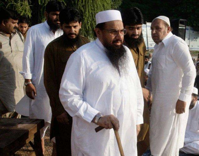 Hafiz Saeed. PTI file photo