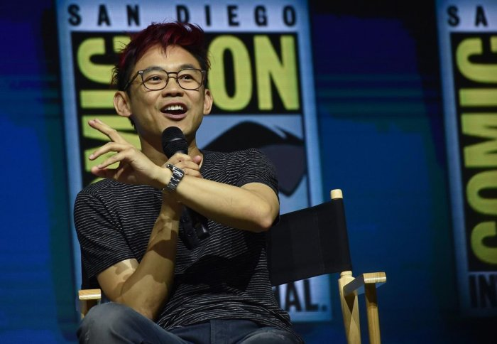 """Director James Wan participates in the Warner Bros. Theatrical Panel for """"Aquaman"""" during Comic Con in San Diego. AFP."""