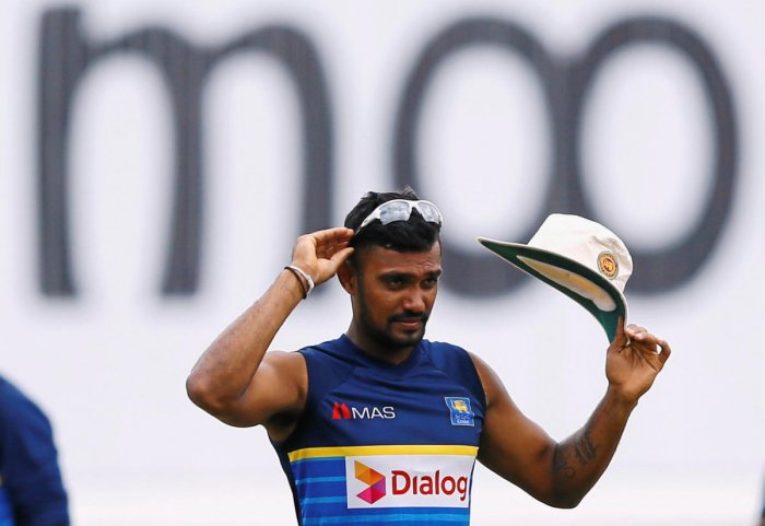Dhanushka Gunathilaka, 27, and his friend, who cannot be named, took two Norwegian women to the hotel where the player was staying in Colombo in the early hours of Sunday. Reuters photo
