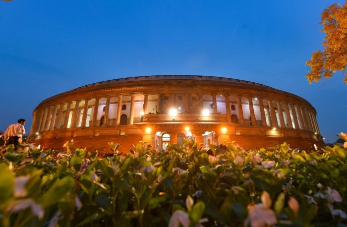 A view of the Parliament House, in New Delhi. (PTI File Photo)
