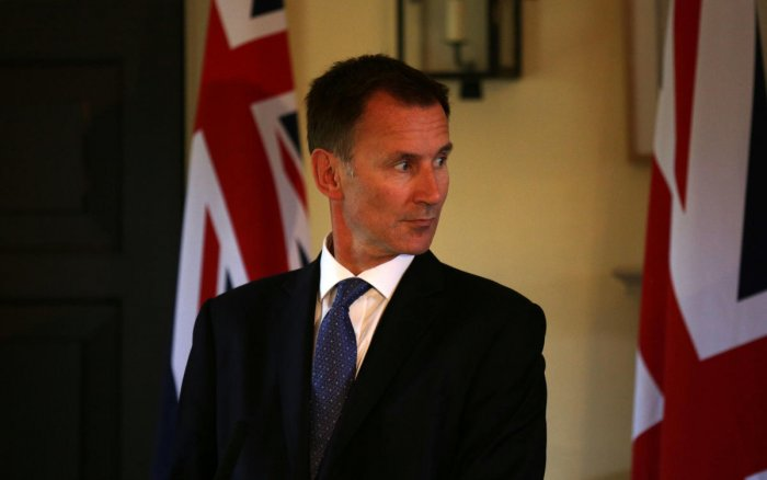 Foreign Secretary Jeremy Hunt. Reuters photo