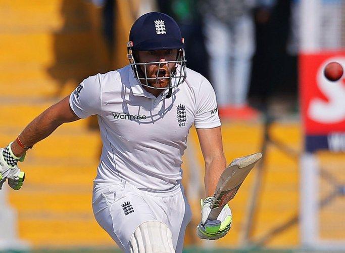 Engalnd wicket-keeper-batsman Jonny Bairstow. Reuters.