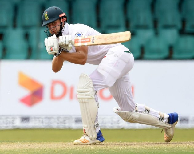 Theunis de Bruyn was the lone bright spot in South Africa's miserable batting performance in the two-Test series against Sri Lanka. AFP