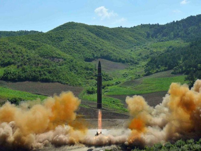 North Korea has started dismantling some facilities at its main satellite launch station, seen as the testing ground for its intercontinental ballistic missiles, according to expert analysis of recent satellite images. File photo