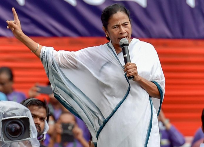 In picture: West Bengal Chief Minister Mamata Banerjee.