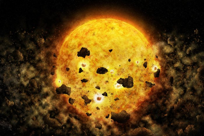 Physicists from MIT and elsewhere have observed the star, named RW Aur A, using Nasa's Chandra X-Ray Observatory.