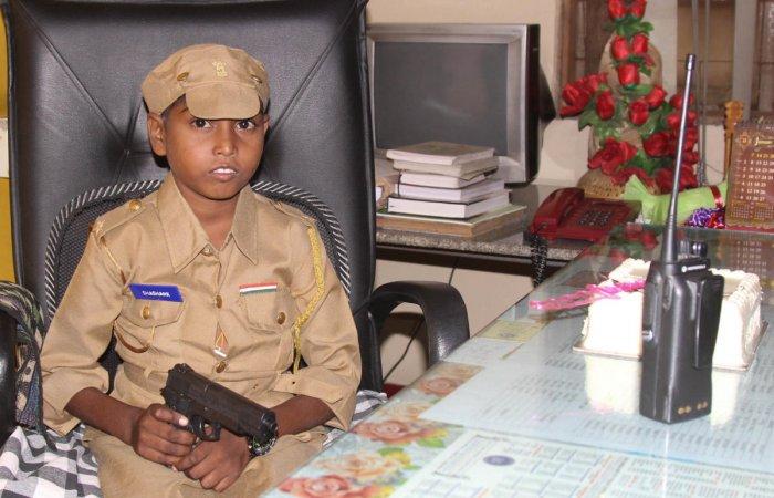 Thalassaemia patient's police dream comes true | Deccan Herald