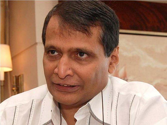 Civil Aviation Minister Suresh Prabhu