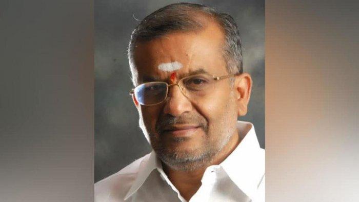 Karnataka Higher Education minister G T Deve Gowda. DH file photo