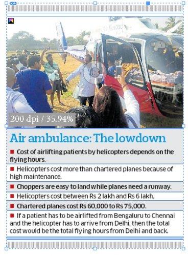 Air ambulance: The lowdown