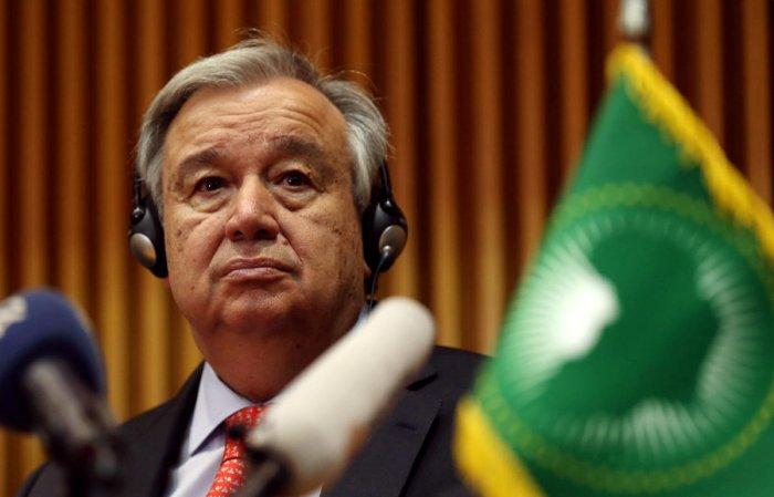 UN Secretary-General Antonio Guterres. (Reuters file photo)