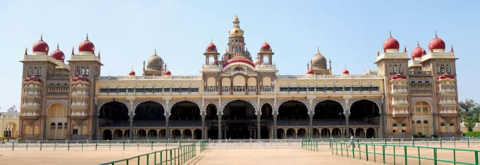 The Mysore Palace had an efficient system of archiving.