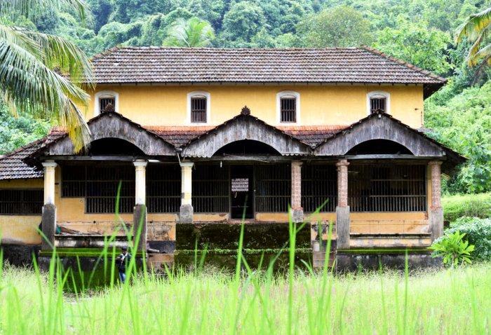 Guttu Mane, a traditional manor house popular in coastal Karnataka