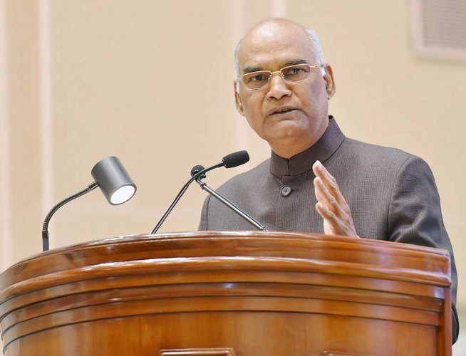 In picture: President Ramnath Kovind. PTI file photo.