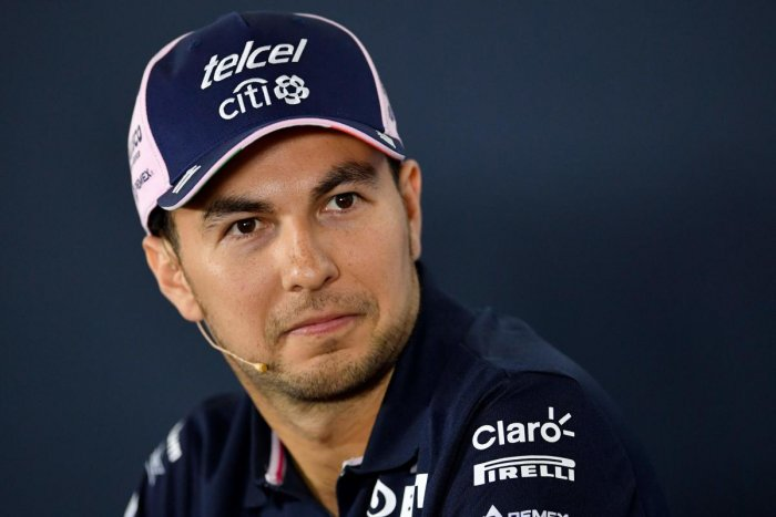 Force India's Mexican driver Sergio Perez said he had to take the legal step to protect the team. AFP
