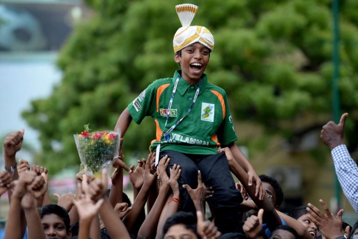 From being another face in the crowd that welcomed chess legend Viswanathan Anand in 2012 to receiving a rapturous welcome last month, Rameshbabu Praggnanandhaa has come a long way in a short span of time. AFP