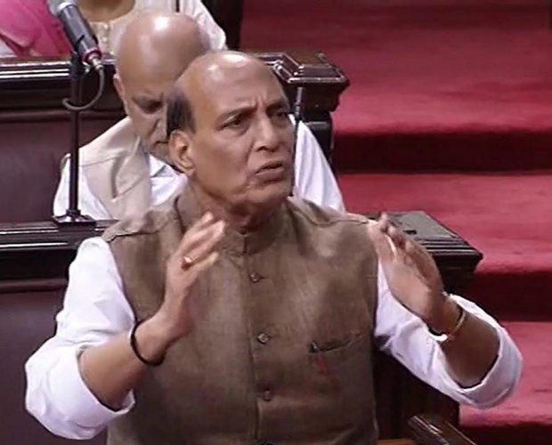 Union Home Minister Rajnath Singh. (RSTV GRAB/PTI File Pic)