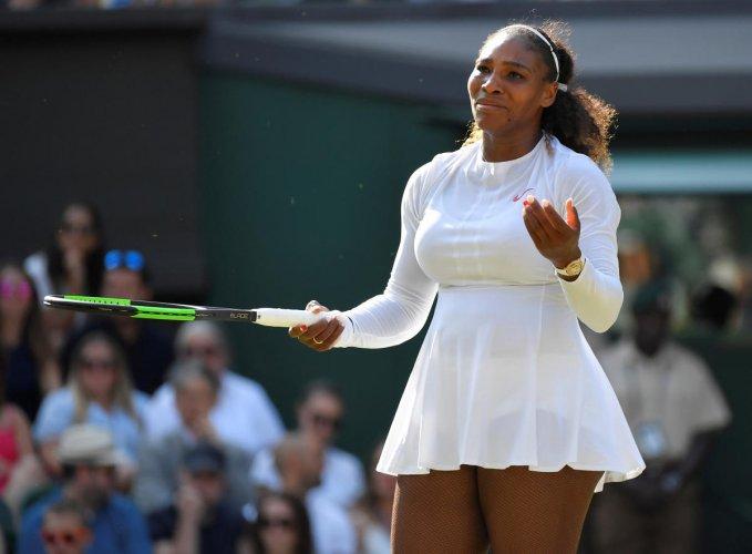 WHY ME? Serena Williams