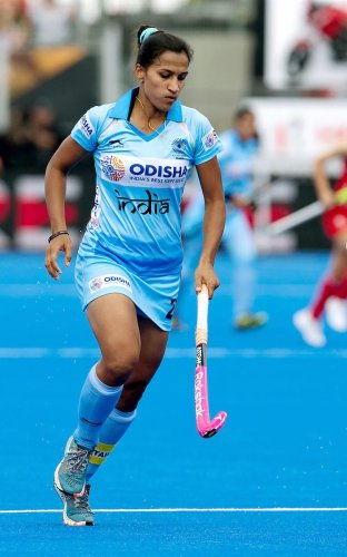 Skipper Rani Rampal's goal against USA handed India their progress to the knockouts on Sunday. PTI