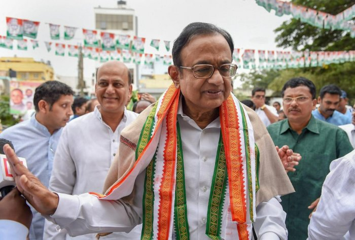 A court here today directed former Union finance minister P Chidambaram's family members to appear before it on August 20 in connection with a black money case. PTI file photo